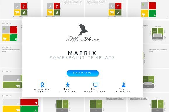 Matrix BIG pack | PowerPoint by ioffice24 on @creativemarket