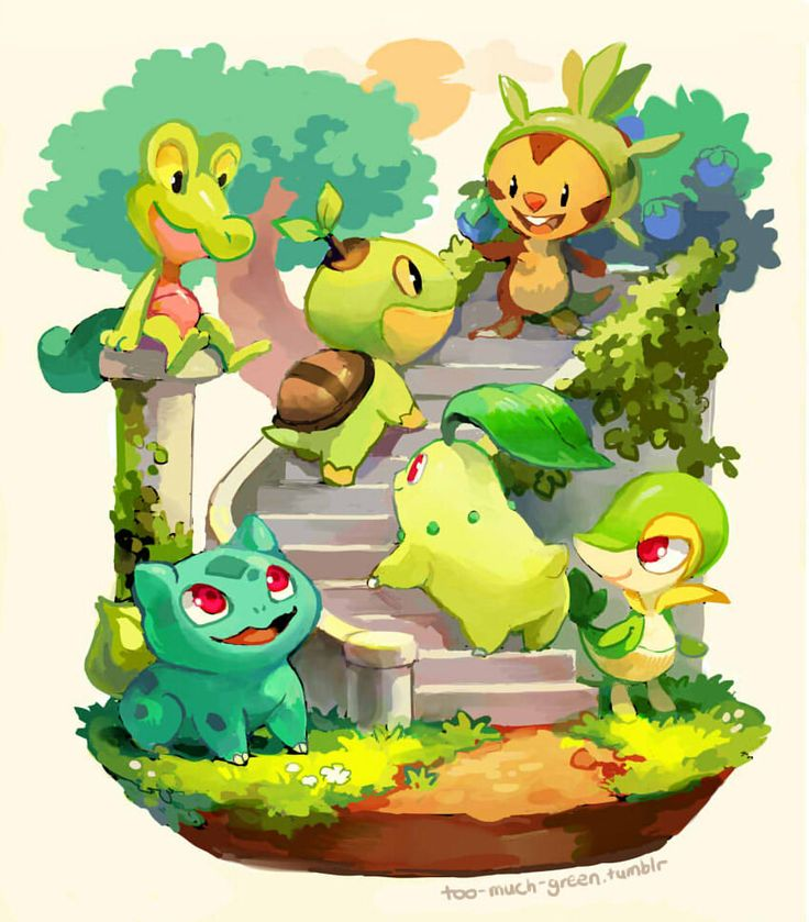 Gotta love Pokémon., too-much-green:   fun with friends