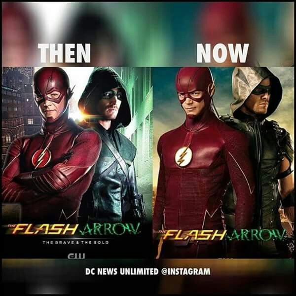 season 2 and 4 are almost here everyone     arrow  flash