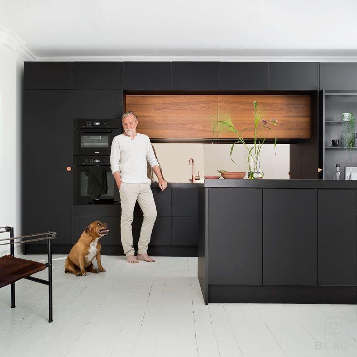 Upea ulkonäkö ja hyvä toiminnallisuus = Unelmien keittiö! Seuraa meitä myös instagramissa @blauinterior