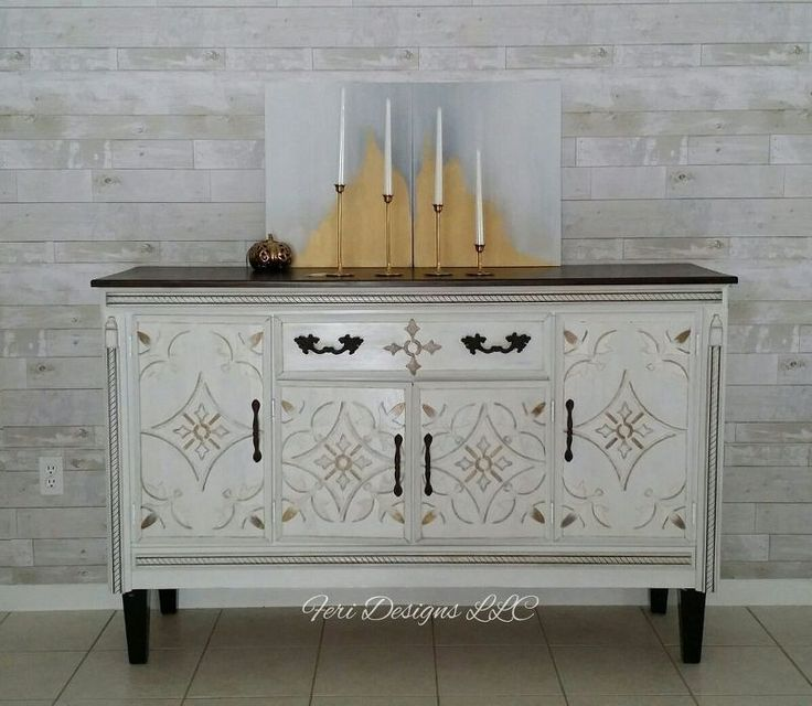 french sideboard buffet from old hutch