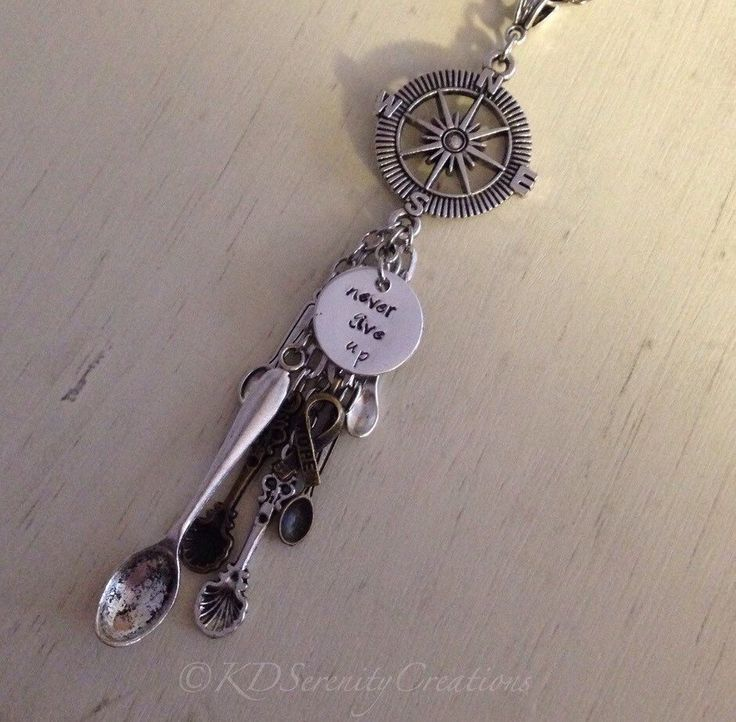 A personal favorite from my Etsy shop https://www.etsy.com/ca/listing/288472565/spoonie-journey-pendant-spare-spoons