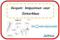 JufYvon: Gespot: Knipzinnen voor Sinterklaas