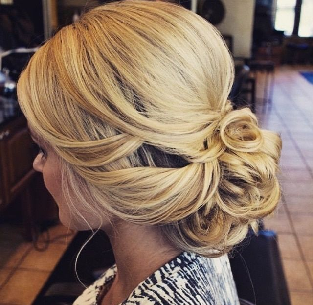 Intricate updo perfect for any special occasion!
