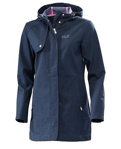 Wetterfester Mantel von Jack Wolfskin für jedes Wetter!