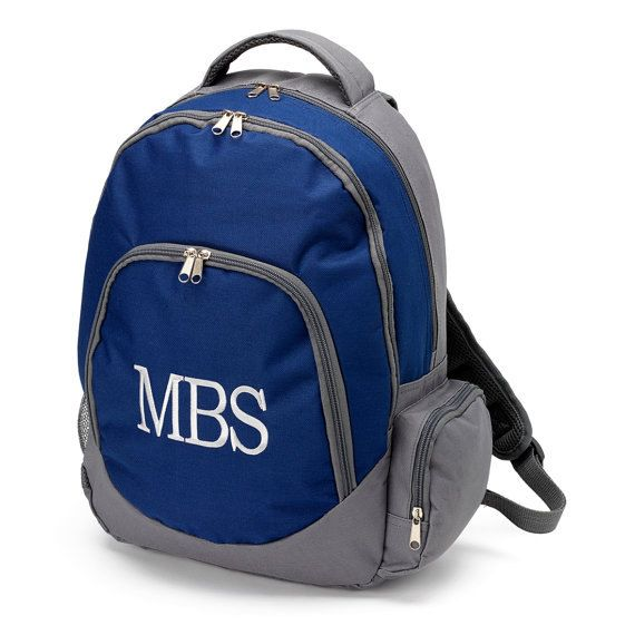 Personalized Kids Backpacks in Brody Navy