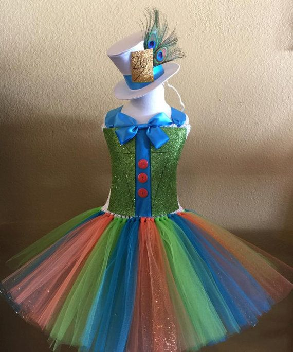 disney alice in wonderland mad hatter tutu infantil
