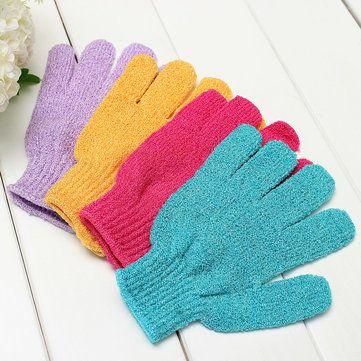 Soft Gloves Bath Cleaner Supple Skin Mitt Shower Scrub Exfoliating