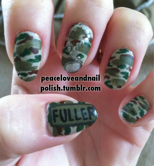 US Army Nails - 29 Best Miscellaneous Military Nail Art Images On Pinterest