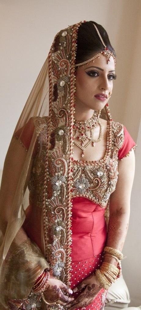 Bridal Make Up Indo Western Dresses Pinterest