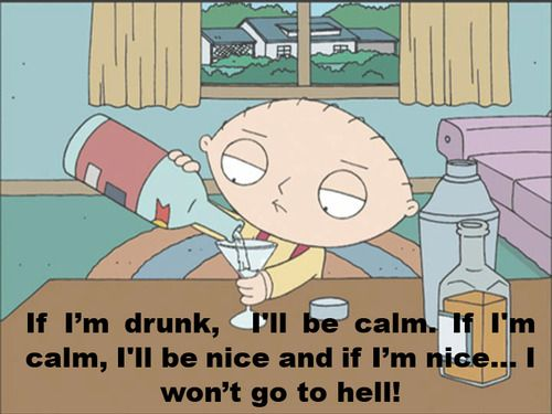 Salvation theology with Stewie Griffin.