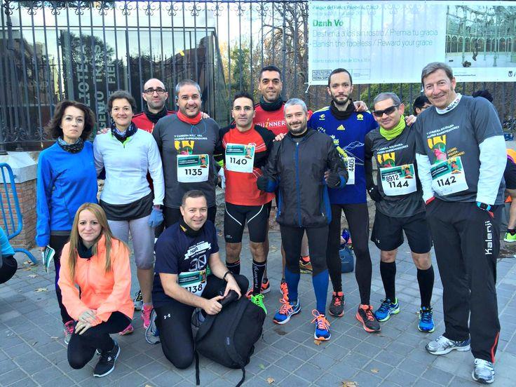 El equipo de INFORMA D&B -sin dejarse impresionar por el frío- ha participado este domingo en la Carrera Solidaria Madrid Emprendedores ¡con un gran resultado!