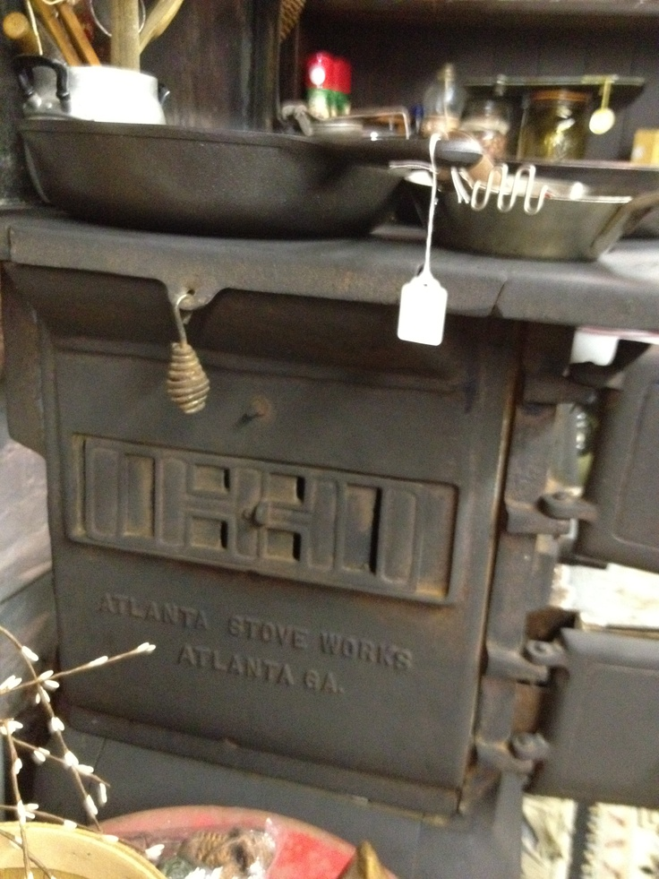 Atlanta Stove Works Wood Burning Cook Stove Stoves