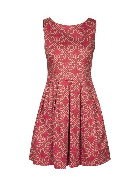 Dress 4911-602, Brown