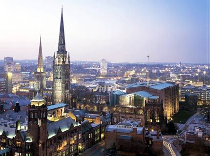 Coventry, England. Can't wait to go this summer!!