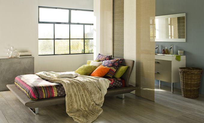 17 meilleures id es propos de chambre coucher de style for Chambre adulte alinea