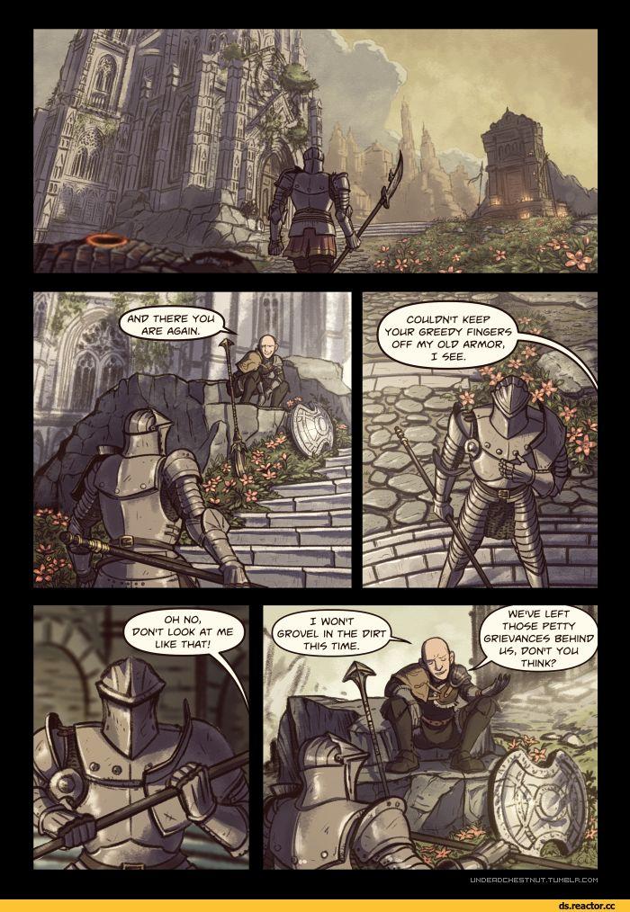 Dark Souls,фэндомы,Unbreakable Patches,DSIII персонажи,Dark Souls 3,Ashen One,Bearer of the curse,DSII персонажи,Dark Souls 2,Chosen Undead,DS персонажи,DS комиксы