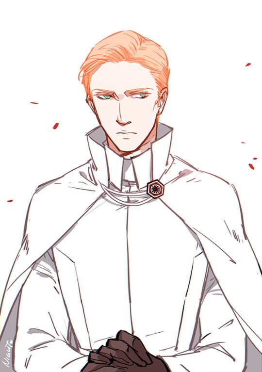 Hux would've liked to make Grand Admiral...But alas. Dream a little bigger, darling.