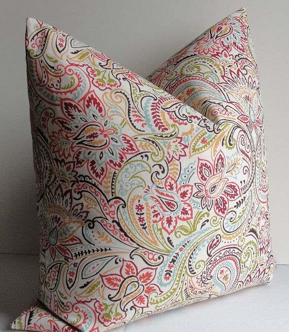 Cot In A Box Morocco Turquoise: Decorative Designer Pillow Cover
