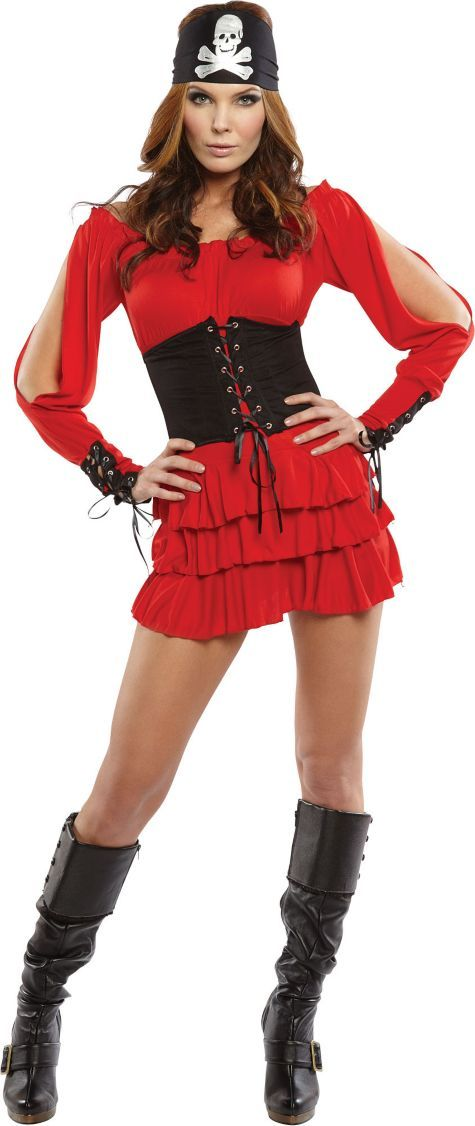 pirate party costumes adult bikini