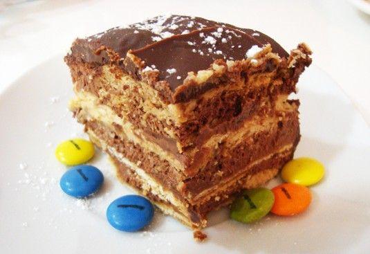 ¿Cómo hacer una tarta de galletas María?   Recetas para niños