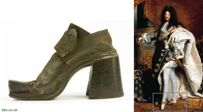 """Sepatu tumit tinggi atau high heels merupakan koleksi wajib untuk para wanita pencinta mode. Pasalnya, high heels memang mujarab """"menyulap"""" bentuk tubuh menjadi lebih jenjang dan langsing. Namun, tahukah Anda bahwa pada zaman yang telah lampau, sepatu tumit tinggi bukan diciptakan sebagai alas k"""