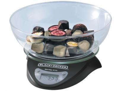 Balança de Cozinha Digital até 3Kg Black&Decker - BC250-BR com as melhores condições você encontra no Magazine Acgm. Confira!