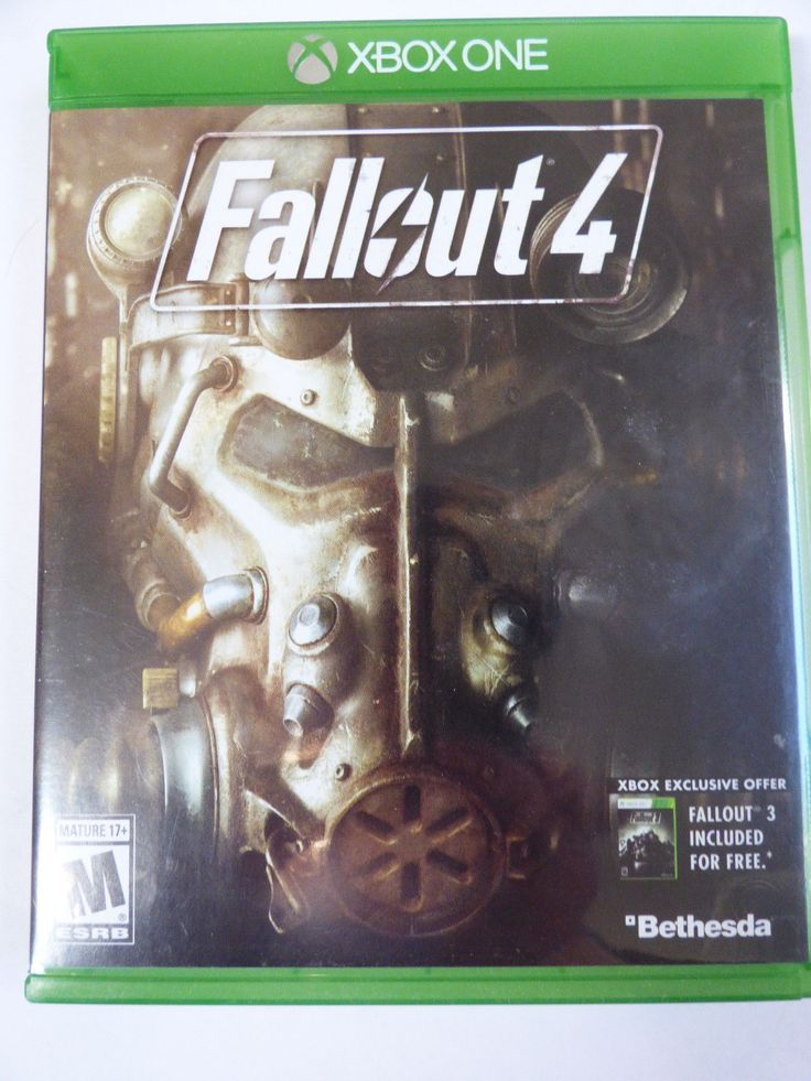 Fallout 4 Xbox One game from private collection 93155170421 | eBay