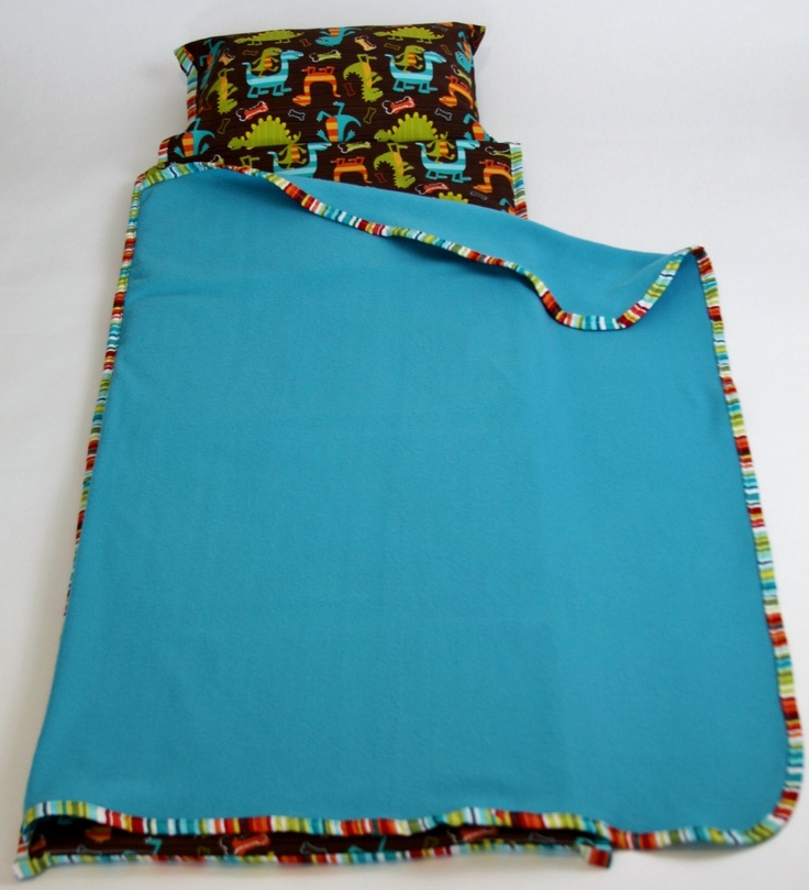 Pick a Print - Nap Mat Cover with Blanket, Pillowcase, Handle and Strap - Kindermat Cover - Free Shipping. $78.00, via Etsy.