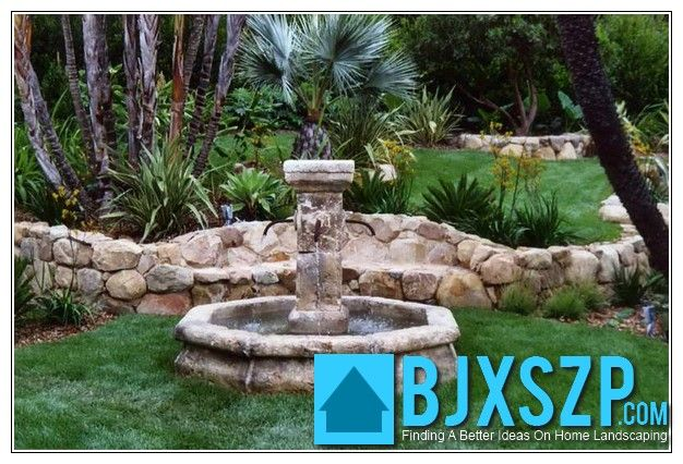 Cool Home landscape fountain read more on http://bjxszp.com/front-yard-landscaping/home-landscape-fountain-2/
