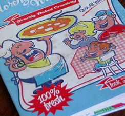 Freshly Baked Creativity - presonal promotional leaflet. by Lorenzo Milito
