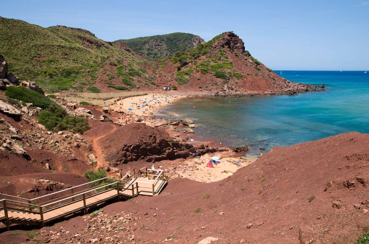 Cala Pilar #Menorca #IslasBaleares #dosmaletas http://www.dosmaletas.com/2013/08/menorca-calas-y-playas.html