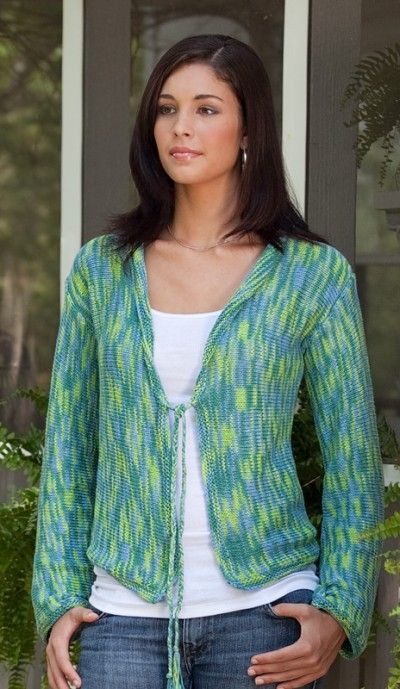 The+Rainforest+Cardigan+in+Sea+Song+Pattern