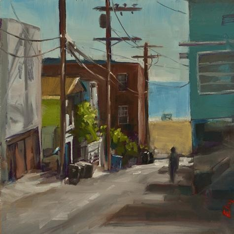 Brian  Eby - Alley Behind the Beach