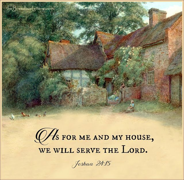 The Breadbox Letters: As For My House