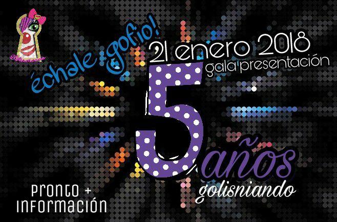 Grupo Mascarada Carnaval: Golisnionas, ya tienen fecha de presentación