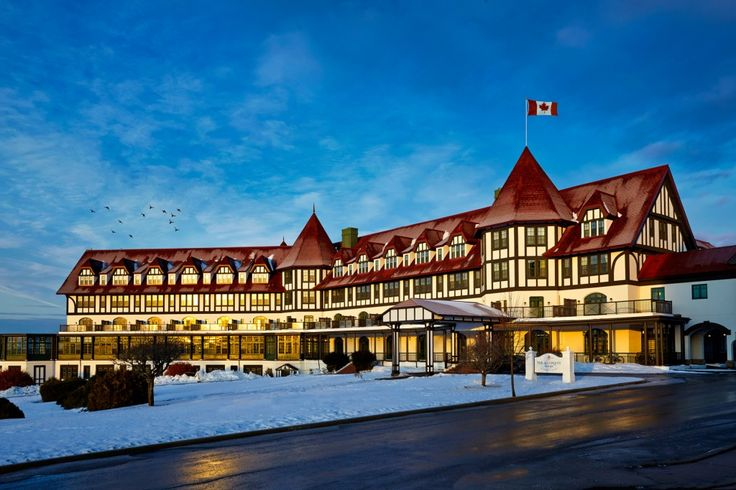 """The Algonquin Resort  - The inspiration for Stephen King's """"The Shining"""".... And they have babysitter services! Perfect for our family! Unique, beautiful and fun! We would love to stay here!"""