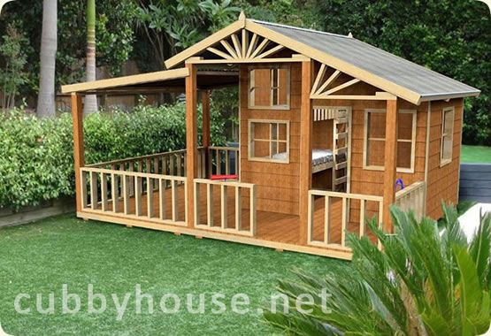Cubbyhouse Kits Diy Handyman Cubby House On Ground