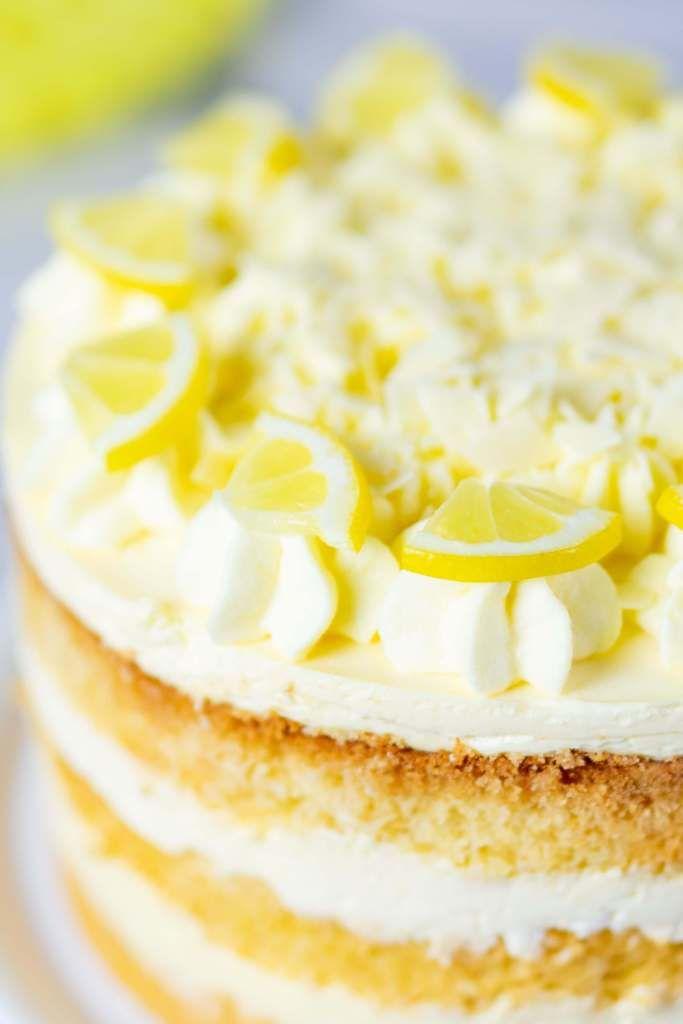 Zitronencreme Torte Mit Lemon Curd Rezept Zitronencreme Torte Zitronencreme Das Grosse Backen Rezepte