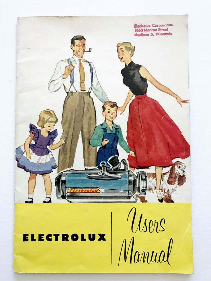1950 Starmaster CANISTER VACUUM CLEANER | vacuum cleaners | Pinterest