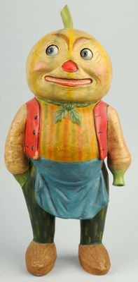 Halloween Collectibles Price Guide: Vegetable Halloween Man with Movable Glass Eyes