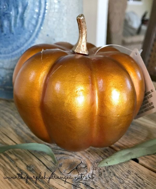 How to Paint Pumpkins ~ an under $10 project