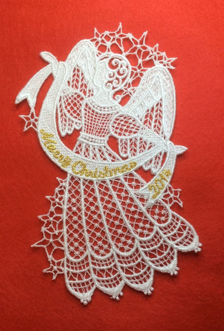Free Machine Embroidery Designs Angels