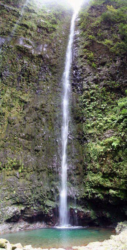 Caldeirão Verde waterfall, Madeira island