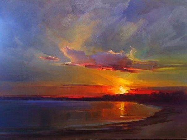 Segelboot sonnenuntergang gemalt  Die besten 25+ Sonnenuntergang Kunst Ideen auf Pinterest ...