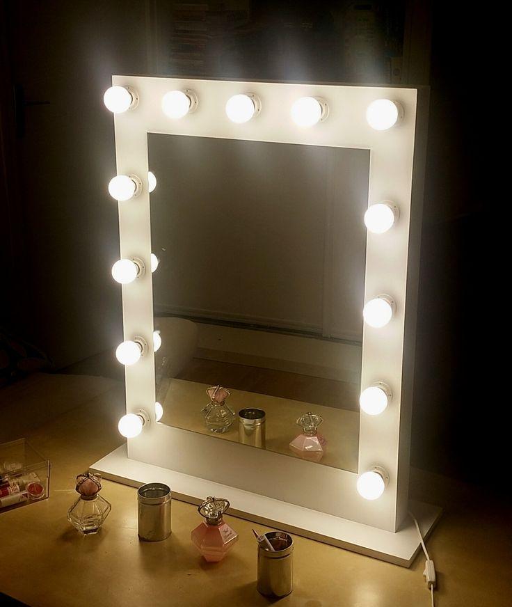 Les 25 meilleures id es de la cat gorie miroir maquillage for Fabriquer un miroir