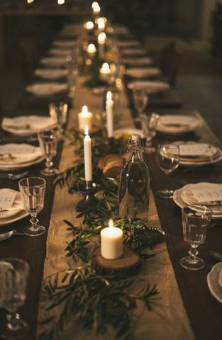 < on the blog > tips for throwing the perfect fall dinner party!