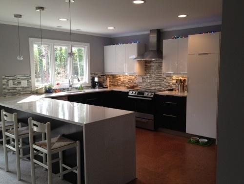Modern Kitchen Makeover modern kitchen