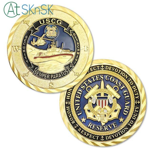 1/3/5/10pcs United States Coast Guard Challenge Coin USCG