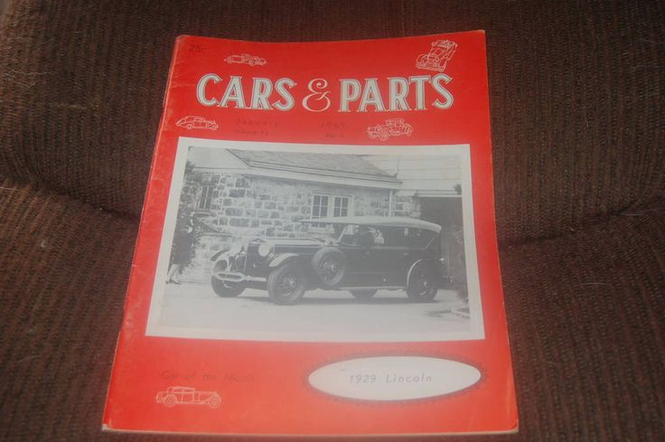 VINTAGE ORIGINAL 1969 CARS & PARTS CATALOG AND CLASSIFIEDS~UNIQUE DECOR  | eBay
